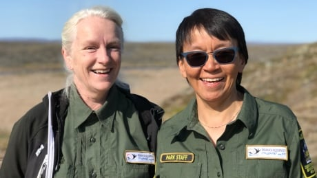 Linda Vaillancourt Leesee Papatsie Nunavut Parks
