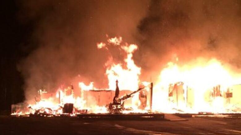 Fire flattens home just outside Baie Verte