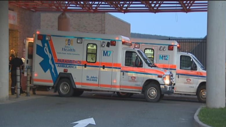 Ambulances tied up by delays in off-loading patients at St. John's hospital ERs