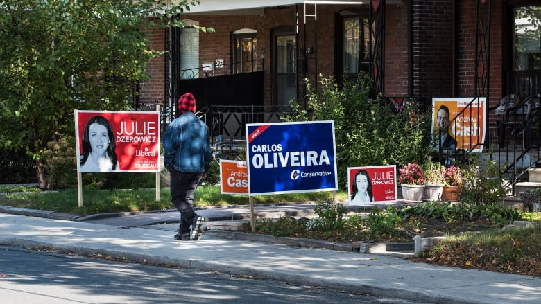 Image result for canadian candidate signs on lawn
