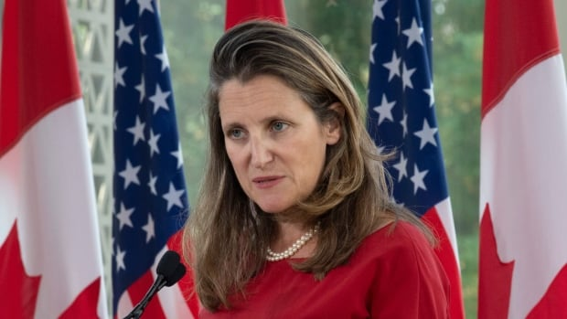 Freeland's imprint on foreign affairs remains even if she's shuffled: analysts