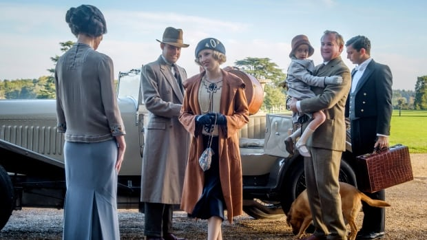 Downton Abbey returns to offer comfort in today's 'whirlpool' of turmoil