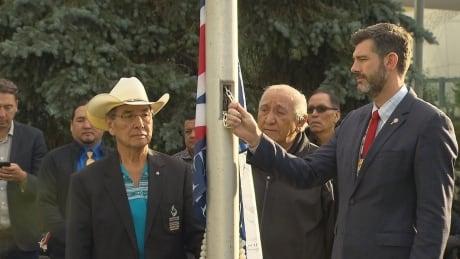 Treaty 6 flag reconciliation day Edmonton