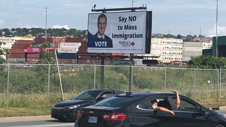 After outcry, company to remove pro-Bernier billboards that criticize 'mass immigration'