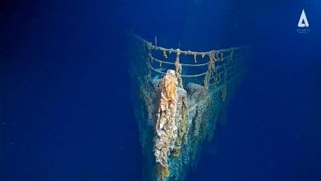 Its sentimental: Titanic slowly disintegrates into ocean floor