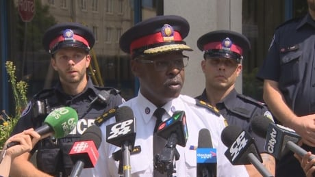 Mark Saunders police chief