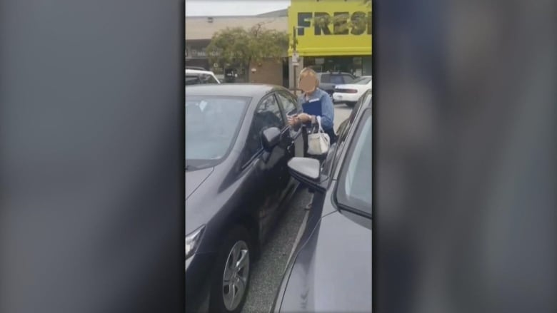 Police investigate racist rant in Richmond, B.C., parking lot captured on video