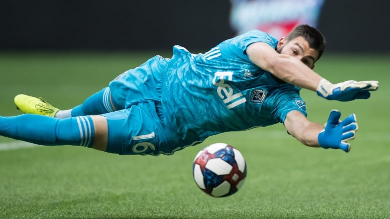 Whitecaps goalkeeper Maxime Crepeau breaks MLS saves record in loss to Quakes