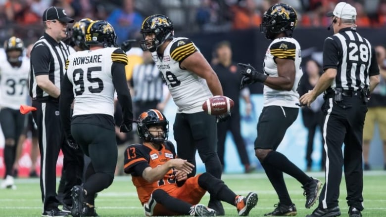 Lions suffer 6th straight loss as Tiger-Cats claw out win