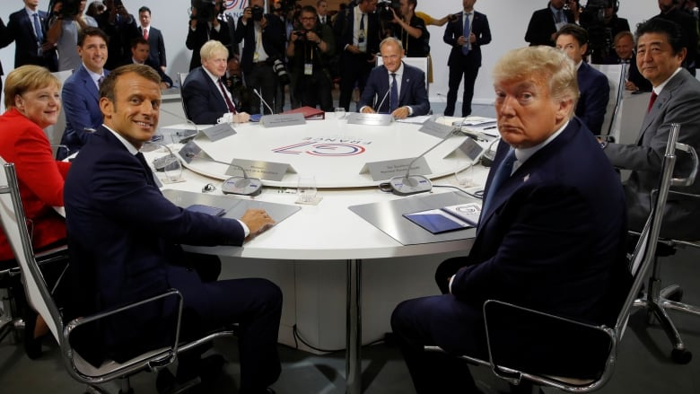 G7 summit gets underway amid global trade uncertainty