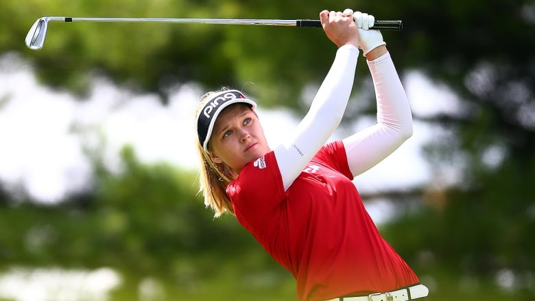 Ko, Broch Larsen tied atop CP Women's Open