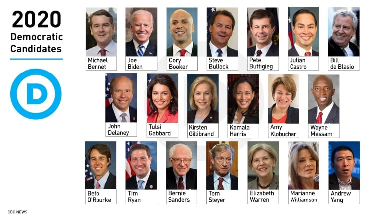 Which Democrats are running for president in 2020? | CBC News