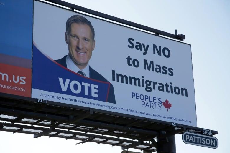 no mass immigration billboards