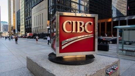 CIBC sign at Bay and King St. in Toronto