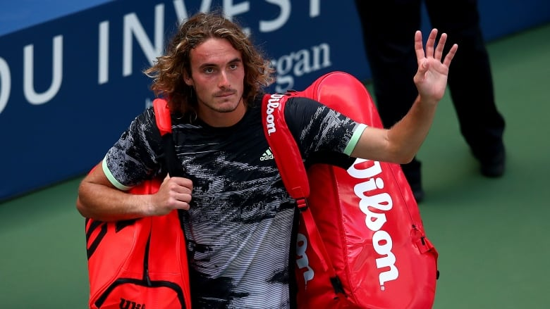 Stefanos Tsitsipas to US Open umpire in tirade: 'You're all weirdos!'