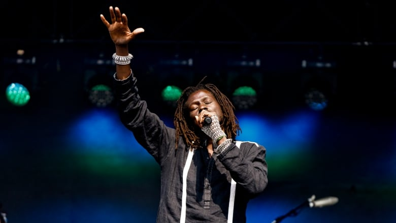 Watch Emmanuel Jal's joyous performance at the 2019 CBC Music Festival