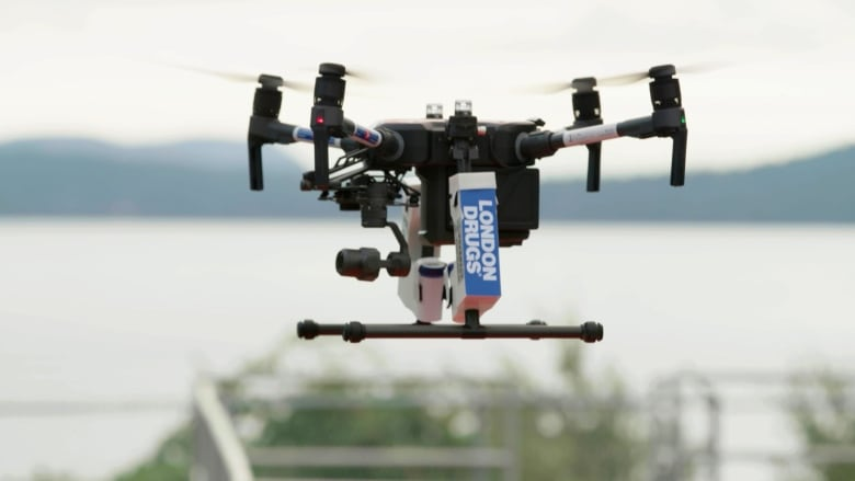Drone test flight successfully delivers prescription drugs in Canada for 1st time