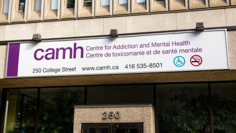 Centre for Addiction and Mental Health (CAMH), 250 College Street location in Toronto.