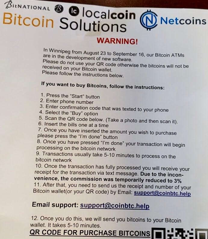bitcoin machine winnipeg)