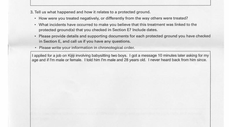 Edmonton man files human right complaints after being