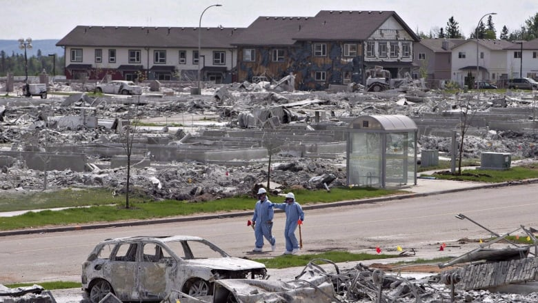 Fort McMurray students show PTSD symptoms after 2016 wildfire, study shows