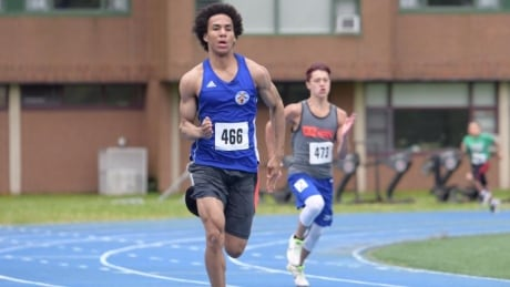 Dante Isadore, 17, track and field