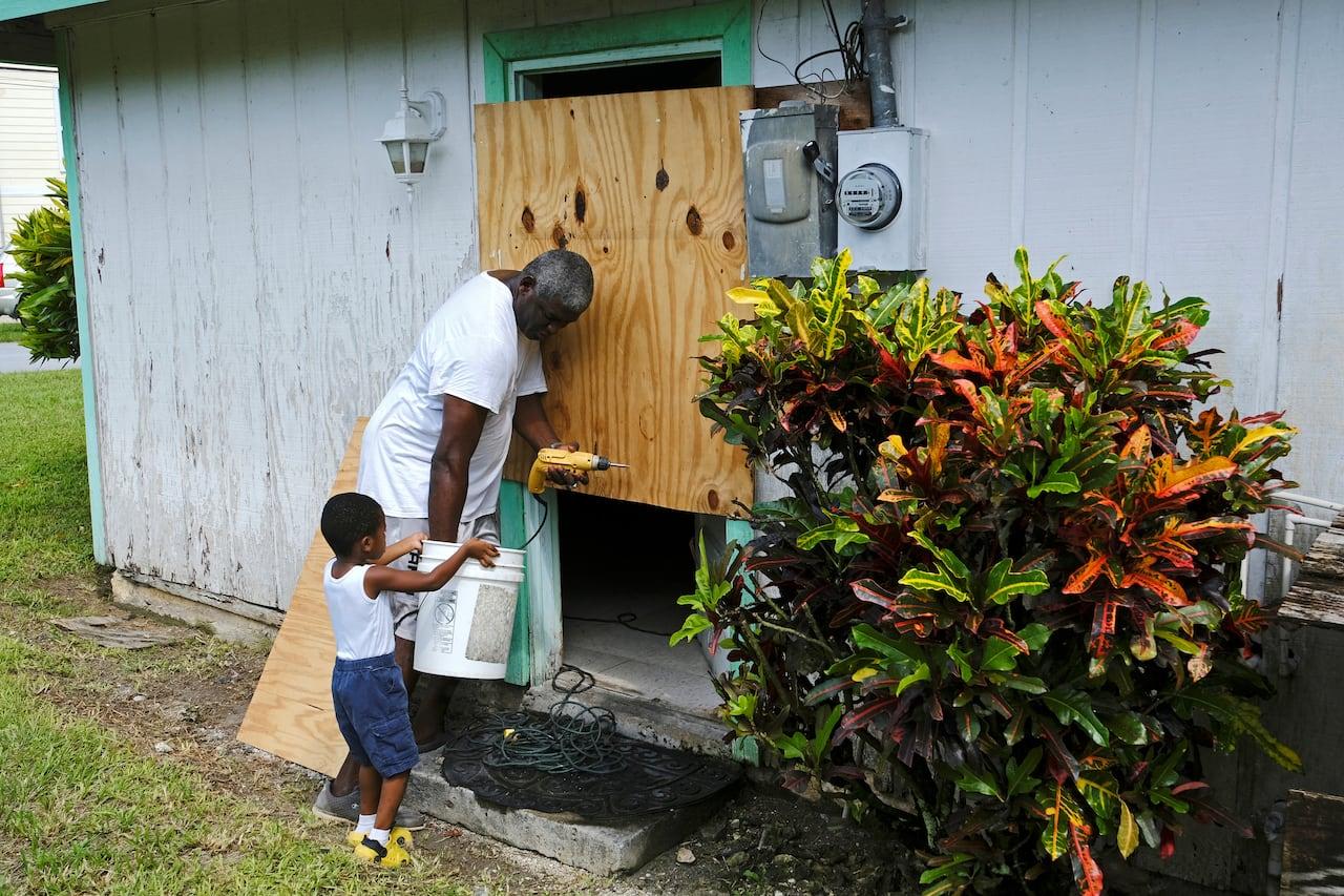 Category 4 Hurricane Dorian bears down on Bahamas, may