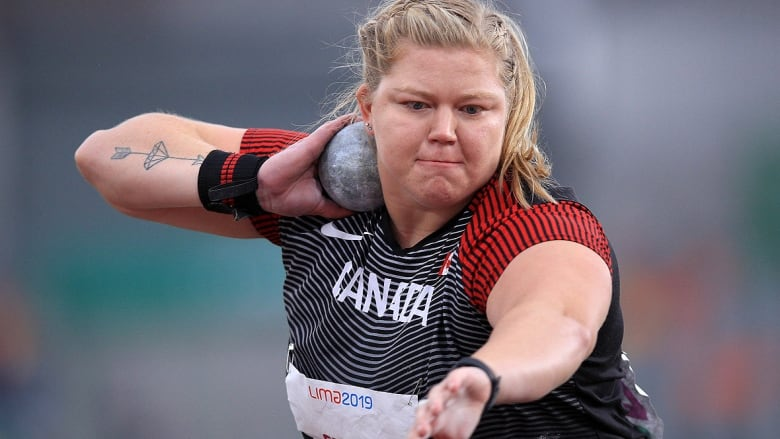Brittany Crew pushes Canadian women's shot put record to 19.28 metres