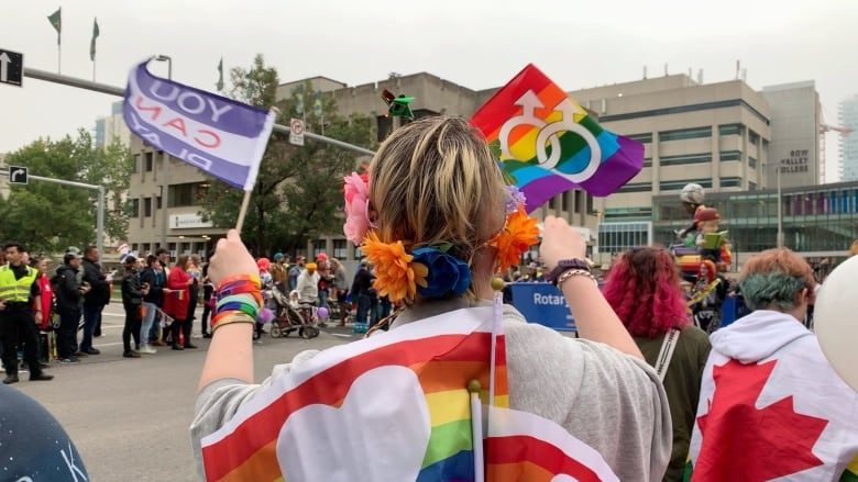 Rainbows brighten foggy Calgary at 29th annual pride parade