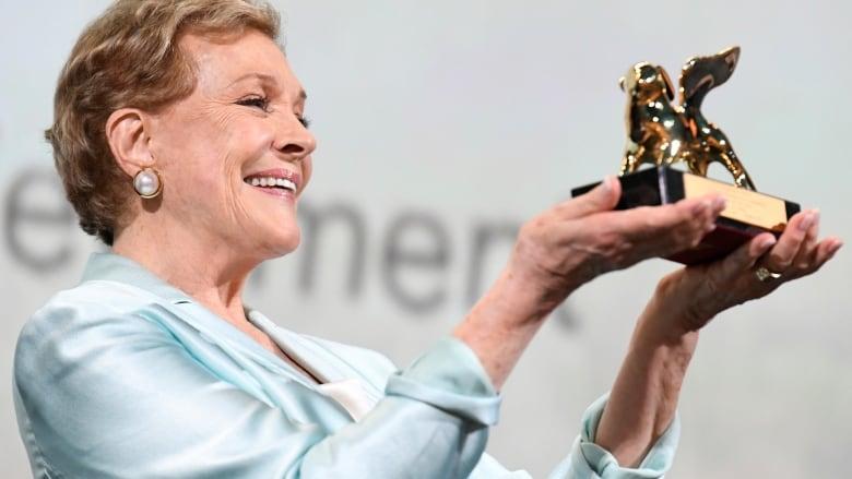 Julie Andrews lauded in Venice with lifetime achievement Golden Lion