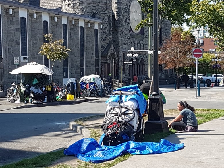homeless on the streets - Victoria mayor says 'city can't do anything' about addiction, homelessness without help