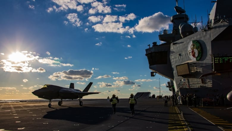 British aircraft carrier to visit port of Halifax this month