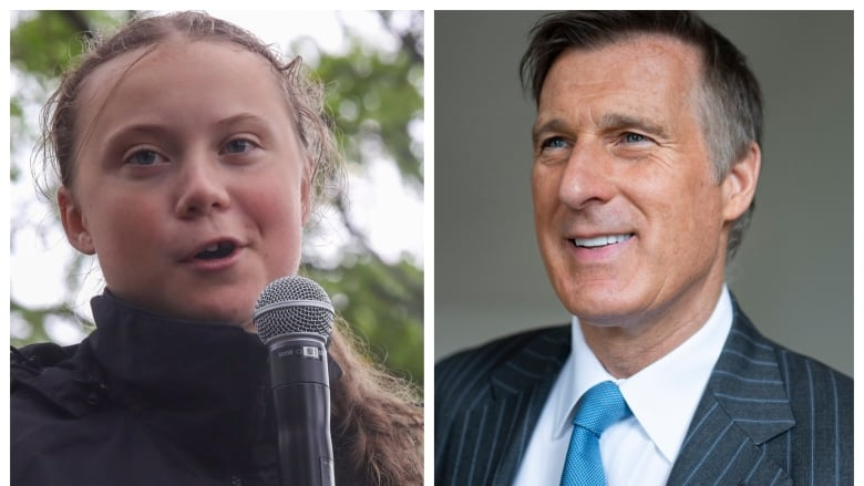 Bernier walks back 'mentally unstable' attack on Greta Thunberg - then calls activist a 'pawn'