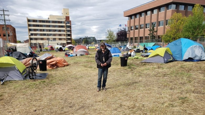 City of Grande Prairie adds security and washrooms to new tent city