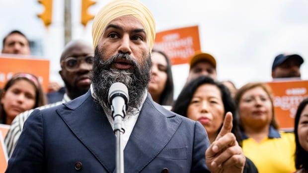 Singh promises bump to Quebec's immigration funds to address labour shortage | CBC News