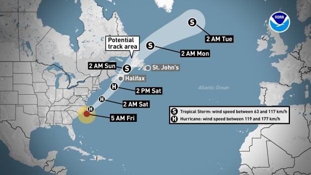 Atlantic Canada braces for Hurricane Dorian   CBC News