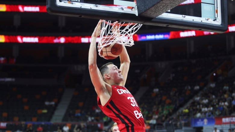 Canada sets record for 3-pointers in rout of Jordan at FIBA World Cup
