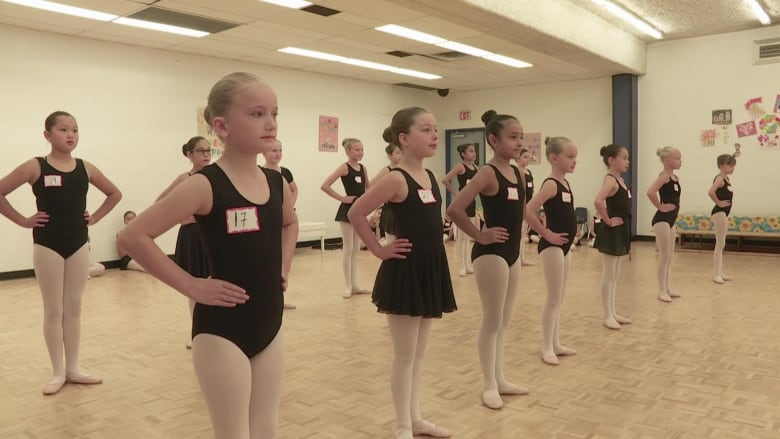 Calgary ballerinas line up to audition for Great Russian Nutcracker