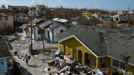 Hurrican Dorian aftermath on Abaco Island