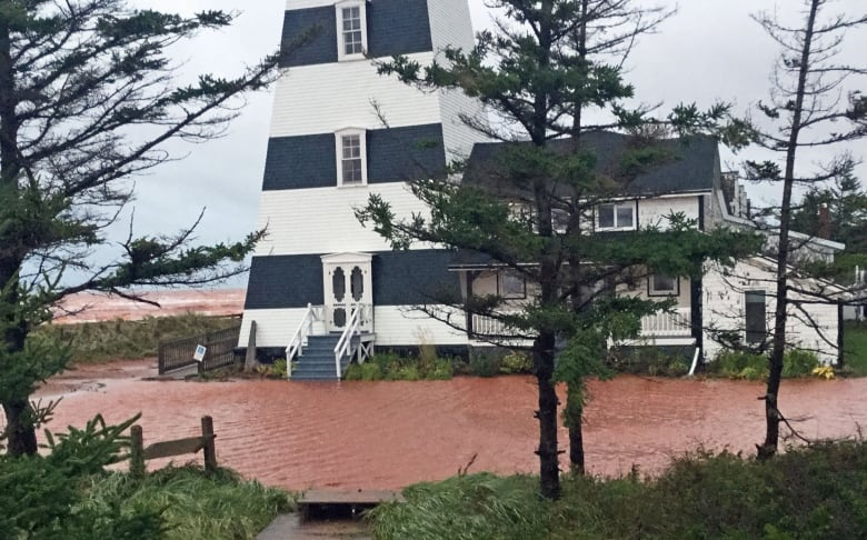 West Point Lighthouse left vulnerable after Dorian smashes