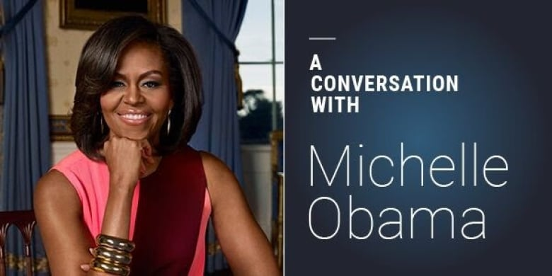Former First Lady Michelle Obama in Winnipeg on Sept  24
