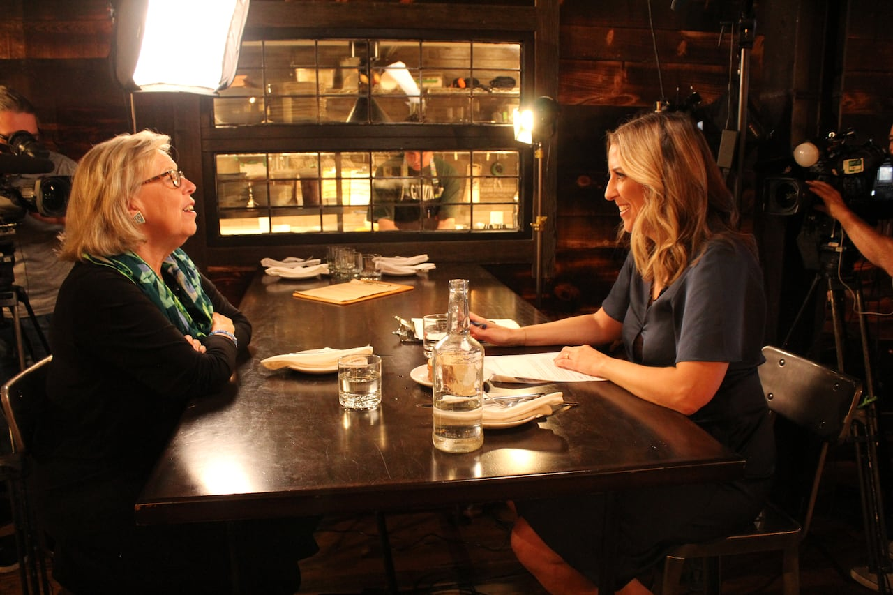 I have to save the whole world': Elizabeth May talks climate