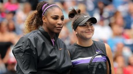 The behind the scenes story of how Bianca Andreescu faced down Serena Williams before the U.S. Open final