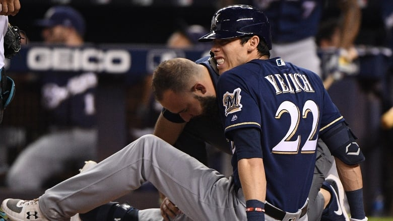 Major League Baseball  world reacts to Christian Yelich's brutal injury
