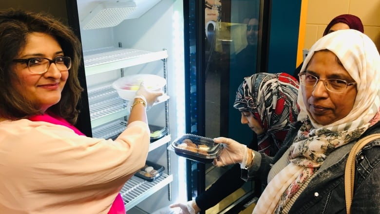 When the fridge at home is empty, this one at school helps feed hungry families