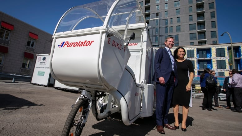 Montreal launches zero-emission delivery option to reduce truck traffic