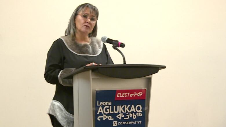 Nunavut's Conservative candidate launches campaign, pledges to kill carbon tax