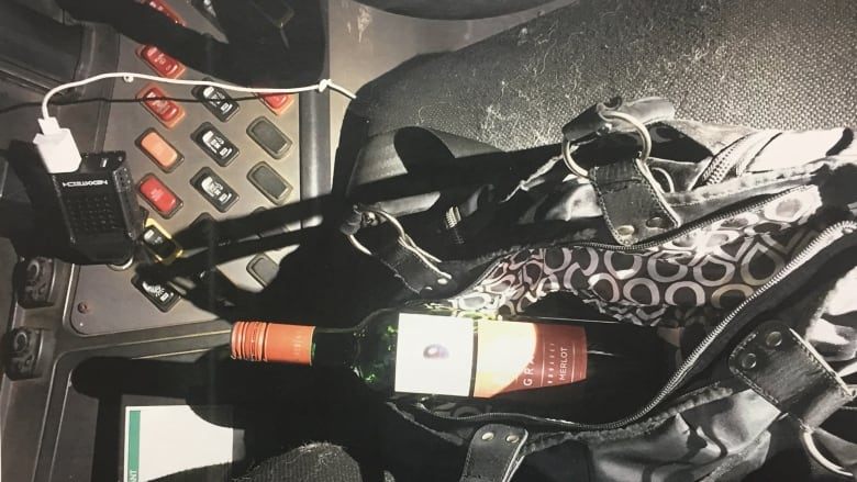 Safe grad bus driver had Naked Grape in her purse — and alcohol in her bloodstream