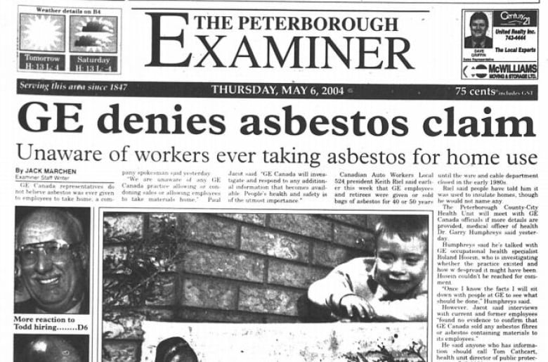Hidden asbestos: Hundreds of homes in Peterborough, Ont., suspected of containing toxic material from GE plant