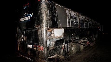 Vancouver Island Bus Crash 20190914